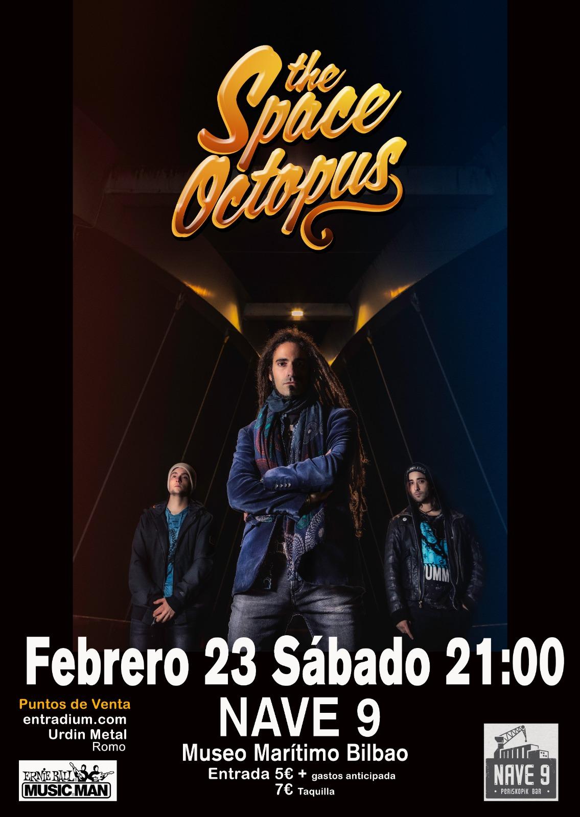 the-space-octopus-concierto-bilbao-febrero-2019